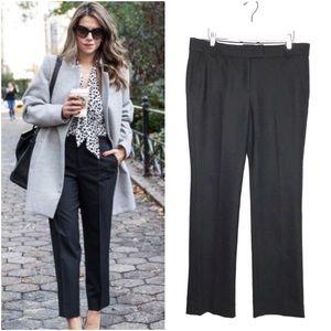 J Crew Campbell Trouser Wool Stretch Pants Black